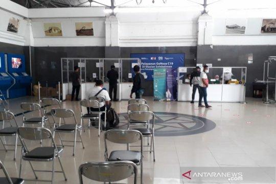 Jumlah peserta tes cepat COVID-19 di Stasiuan Solobalapan menurun