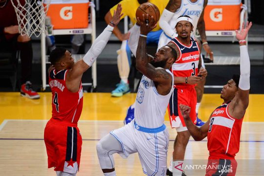 NBA :  Los Angeles Lakers lawan Washington Wizards