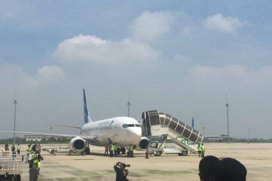 Penerbangan kargo di Bandara Kertajati kembali operasi
