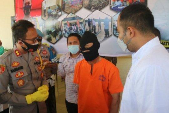 Polres Bintan tetapkan satu tersangka karhutla, picu kebakaran besar