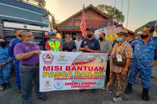 Komunitas Aceh kirim bantuan korban banjir ke Terengganu