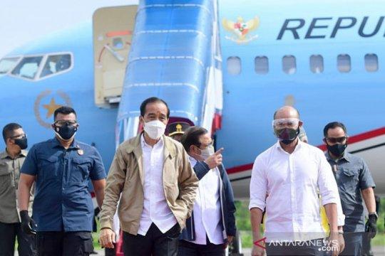 Presiden tinjau lumbung pangan di Sumba Tengah