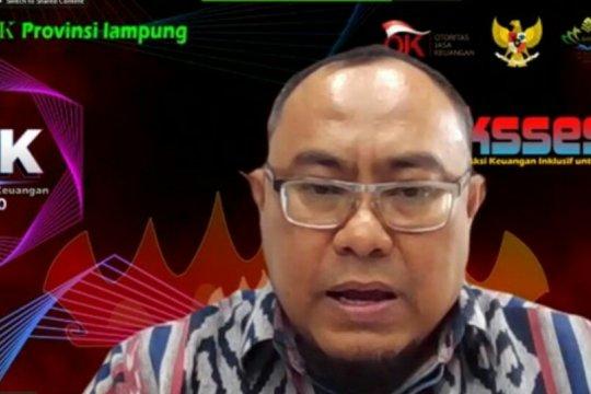 OJK: Kredit perbankan di Provinsi Lampung tumbuh 3,5 persen