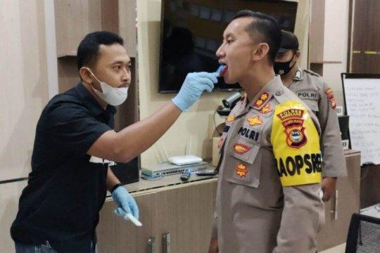 Polisi di Enrekang uji narkoba dengan metode air liur