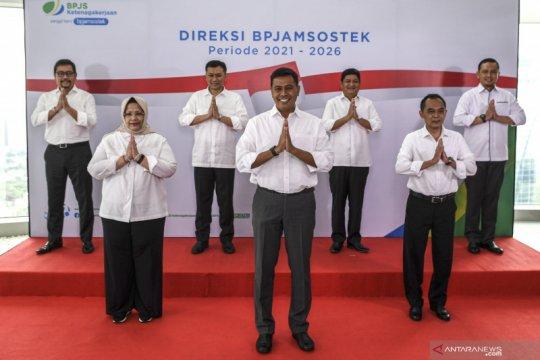 BP Jamsostek kenalkan direksi baru periode 2021 - 2026