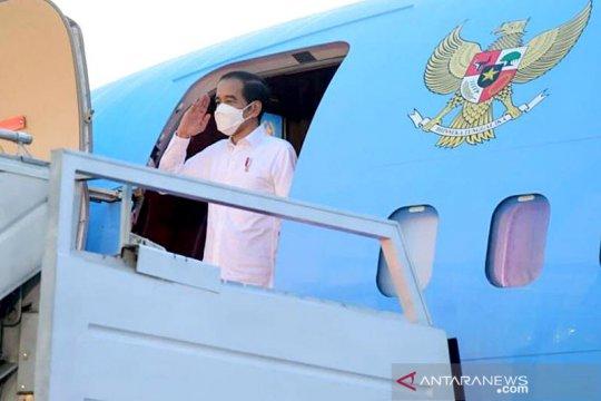 Presiden tinjau lumbung pangan dan Bendungan Napun Gete di NTT