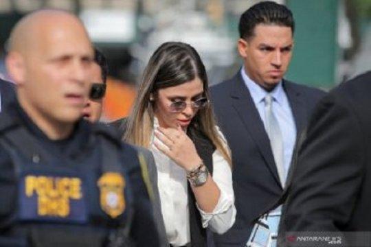 """Istri """"El Chapo"""" mengaku bersalah bantu suami jalankan kartel narkoba"""