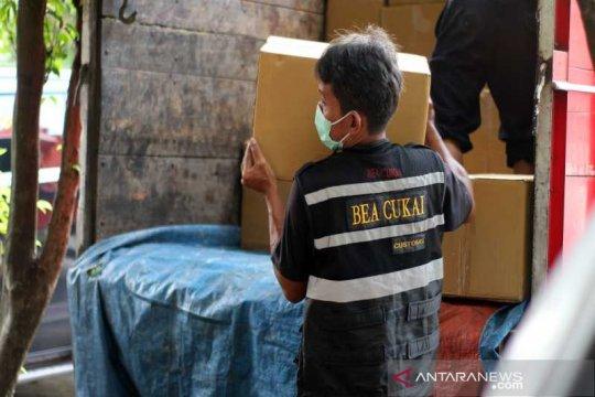 Bea Cukai Surakarta amankan 1,6 juta batang rokok ilegal asal Jatim