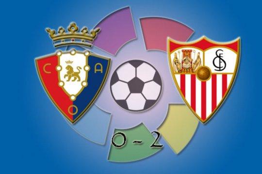 Sevilla lompati Barcelona setelah kalahkan Osasuna