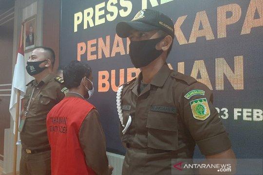 Kejati Aceh tangkap terpidana pencurian kerbau, tiga tahun buron