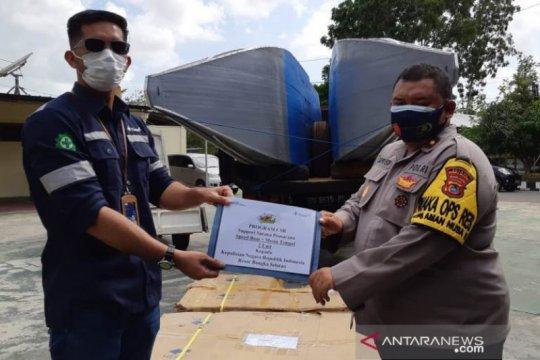 PT Timah serahkan 2  kapal patroli amankan laut Bangka Selatan