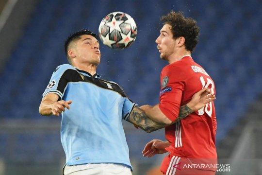 Liga Champions: Bayern Munich tumbangkan Lazio 4-1