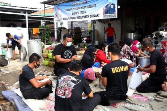 37.792 korban banjir di Kabupaten Bekasi masih bertahan di pengungsian