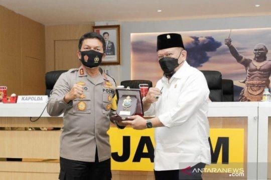 Ketua DPD apresiasi peran Babinkamtibmas tegakkan prokes masyarakat