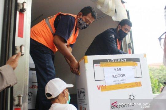 Kabupaten Bogor terima 7.730 vaksin COVID-19 tahap dua
