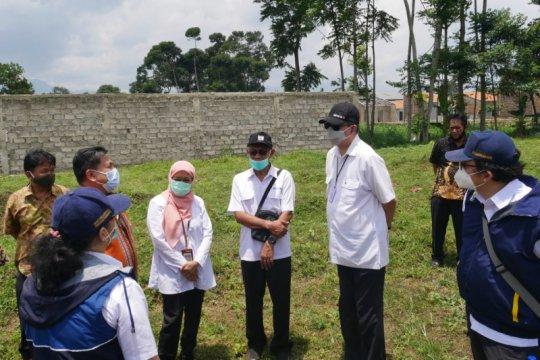 Kementerian PUPR tinjau lokasi relokasi korban longsor Sumedang