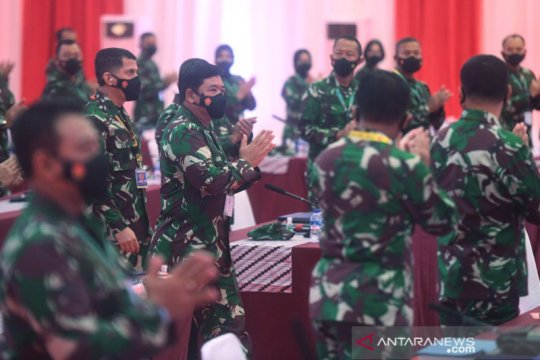 114 Pati TNI dimutasi, Mayjen Bakti Agus Fadjari jabat Wakasad