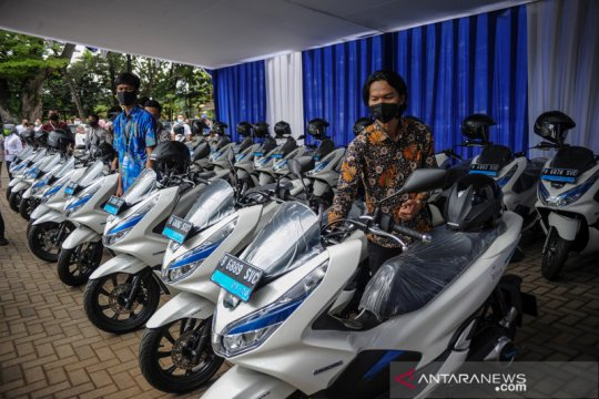 Motor listrik jadi kendaraan operasional ASN di Bandung