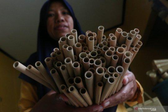 Perjuangan perempuan perajin bambu raup pasar ekspor di saat pandemi
