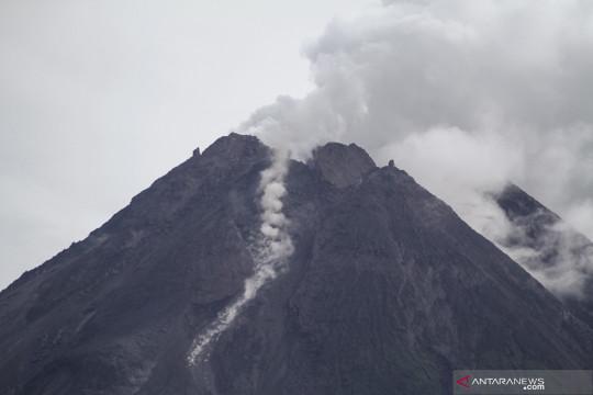 Terjadi perubahan morfologi kubah lava barat daya Gunung Merapi
