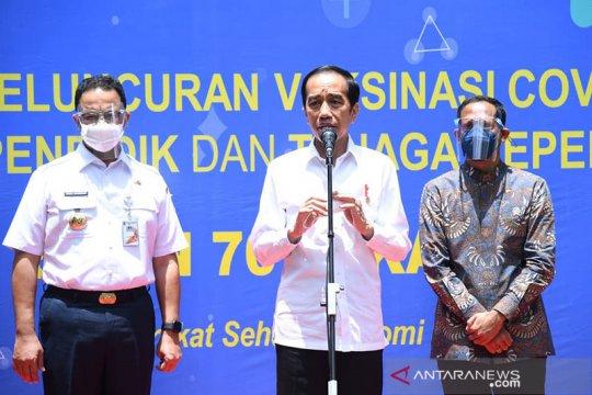 Presiden: Manfaatkan pandemi untuk koreksi total pendidikan Indonesia