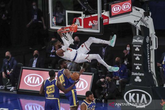 NBA: Golden State Warriors kalahkan New York Knicks 114-106