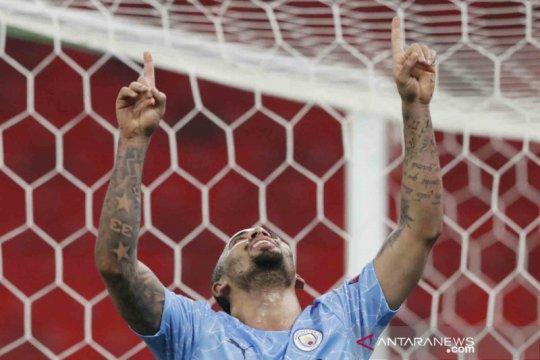 Liga Champions: Manchester City kalahkan Borrusia Mochengladbach lewat dua gol tanpa balas