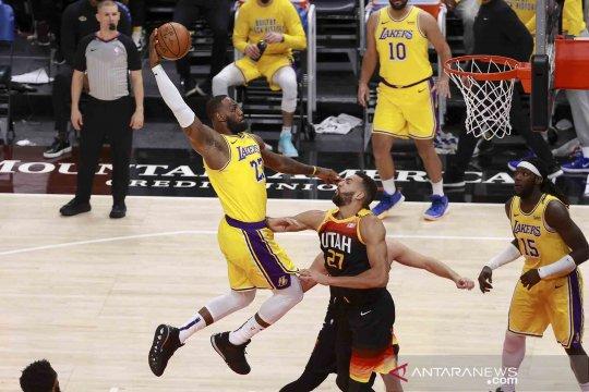 NBA: Jazz tumbangkan Lakers 114 - 89