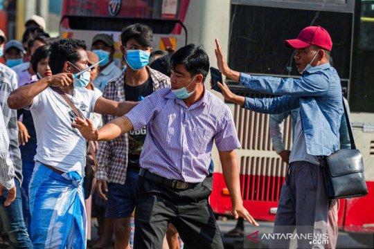 AS blokir kementerian Myanmar, bisnis militer untuk berdagang