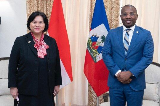Dubes RI serahkan surat kepercayaan kepada pemerintah Haiti