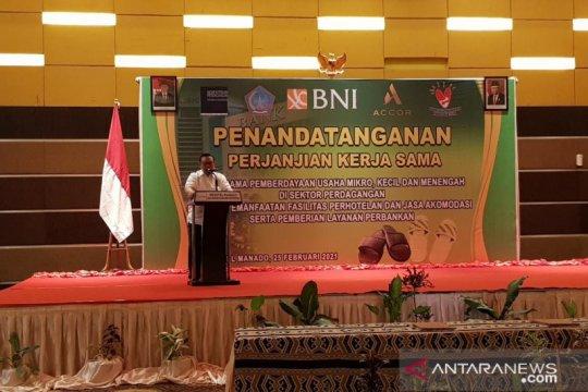 Agung Laksono harapkan produk UMKM Sulut tembus pasar internasional