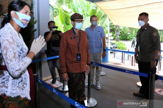 Vaksinasi COVID-19 akan dilakukan di lima kawasan wisata Bali