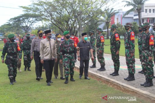 Hadapi status siaga karhutla, apel pasukan digelar di Singkawang