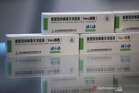 Produksi vaksin COVID-19 Sinopharm