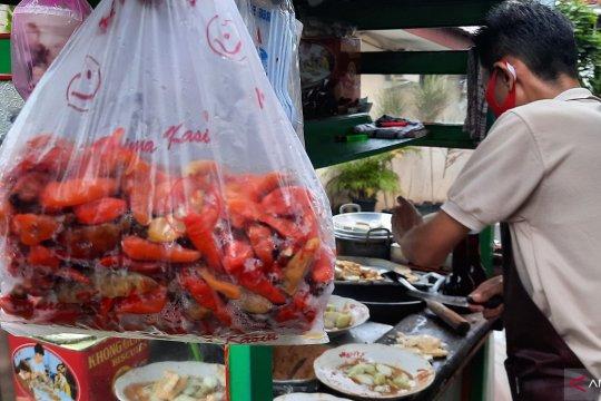 Pangan bersubsidi dipastikan sudah tersedia di Pasar Tomang Barat