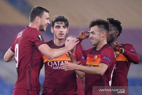 Ringkasan Liga Europa: Roma melaju, PSV disingkirkan Olympiakos