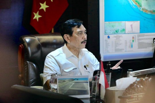 Luhut minta Kominfo dukung digitalisasi produk wisata Indonesia