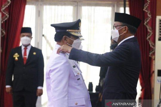 Gubernur Sulawesi Selatan resmi lantik 11 kepala daerah