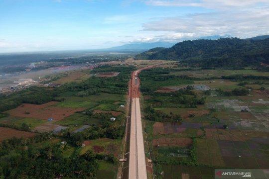 Anggaran pembebasan lahan Tol Padang - Pekanbaru seksi I