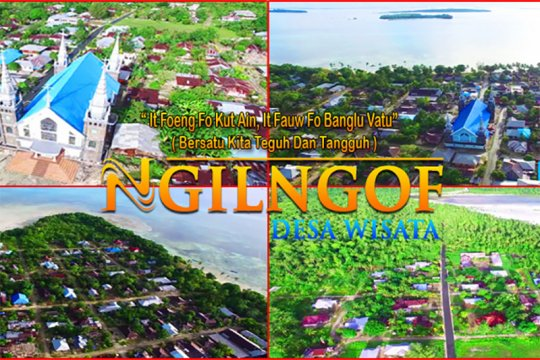 Bupati Maluku Tenggara apresiasi wisata virtual Desa Ngilngof