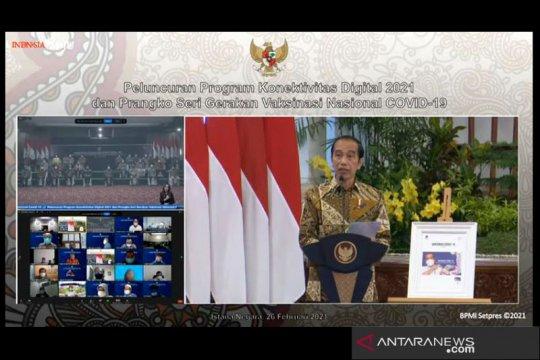 Presiden minta peningkatan produk domestik dalam transformasi digital