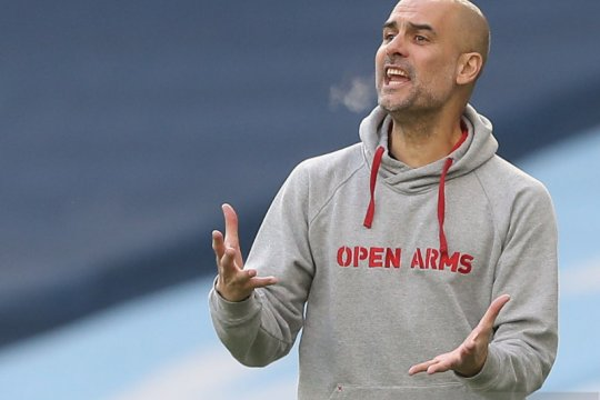 Guardiola merasa City beruntung bisa kalahkan West Ham