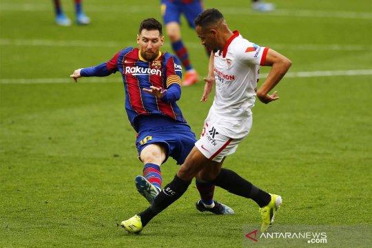 Liga Spanyol : Sevilla vs Barcelona
