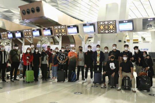 Timnas bulu tangkis Indonesia bertolak ke Swiss Sabtu malam