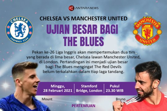 Chelsea vs Man United: Ujian besar bagi The Blues