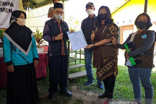 Pemkab Sigi terima bantuan 126 huntap dari Yayasan Sheep Indonesia