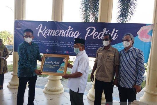 Kemendag serahkan 1.000 paket kebutuhan pokok bagi korban gempa Sulbar