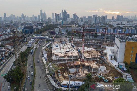 Pembangunan Pasar Senen Jaya I dan II