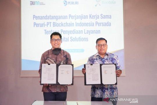 Peruri sediakan layanan digital dukung ekosistem blockchain Indonesia