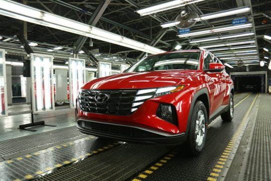 Hyundai All-new Tucson 2022 rakitan AS dirilis